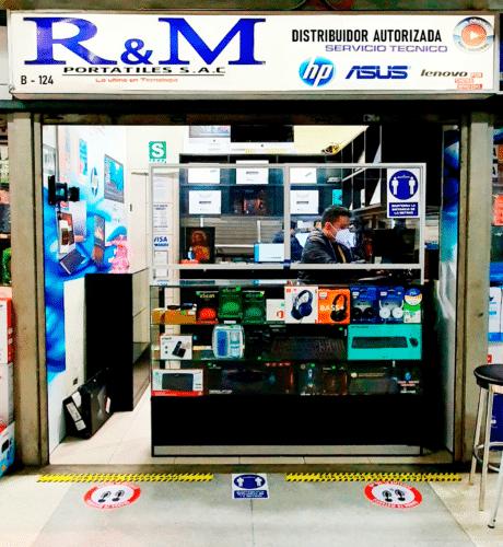 Nuestras tiendas - 174 - R&M Portátiles