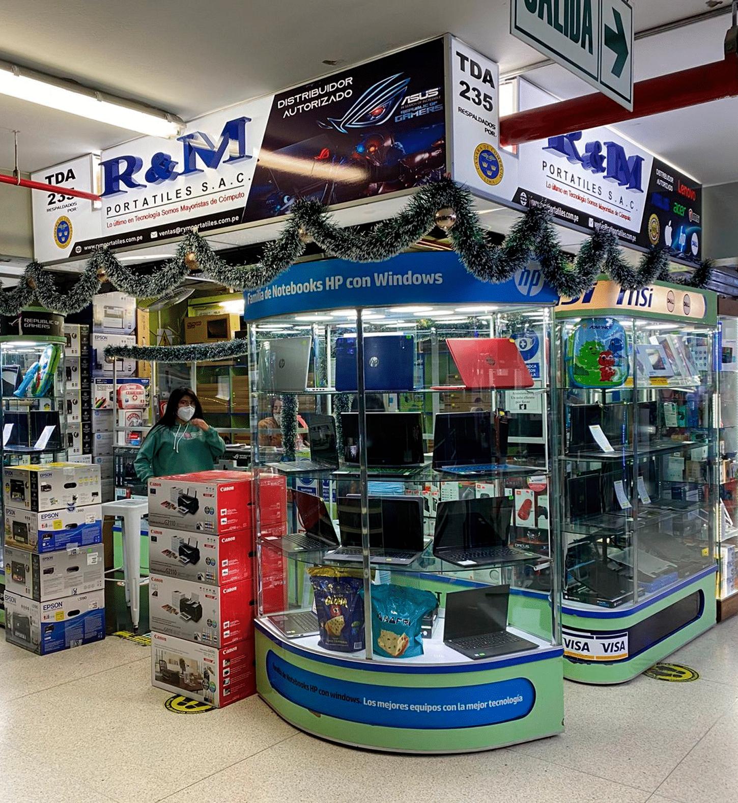 Nuestras tiendas - 235 - R&M Portátiles