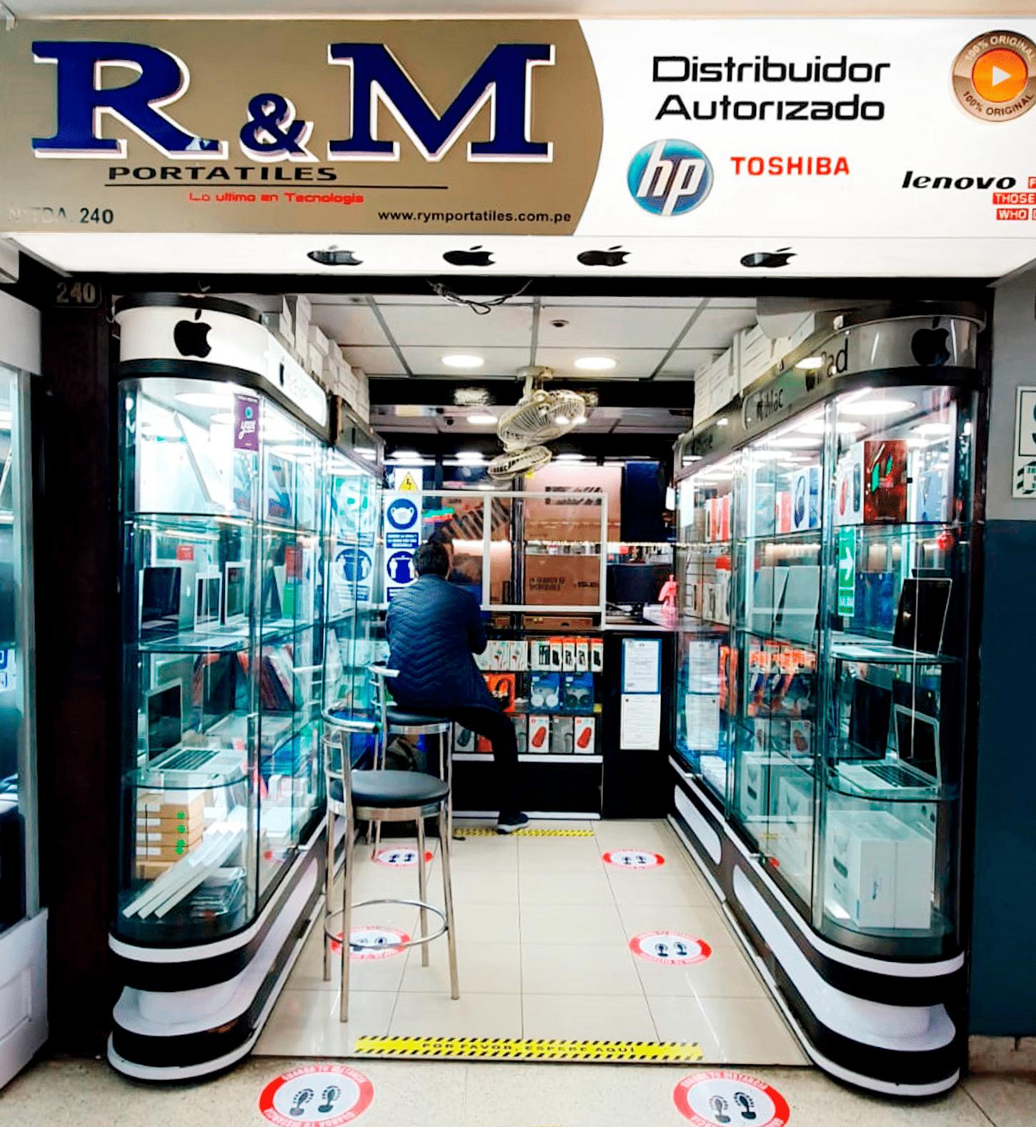 Nuestras tiendas - 240 - R&M Portátiles