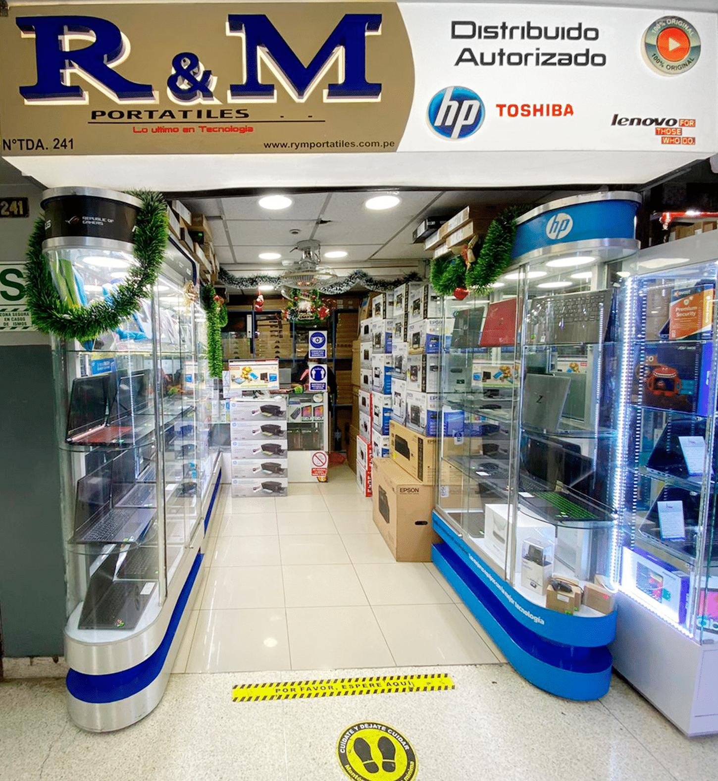 Nuestras tiendas - 241 - R&M Portátiles