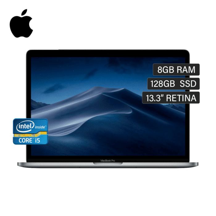 "LAPTOP MACBOOK PRO A1708 INTEL CORE I5 2.30 GHZ RAM 8GB DISCO 128GB SSD 13.3"" QHD 2017 - APPLE PRO 1 - R&M Portátiles"