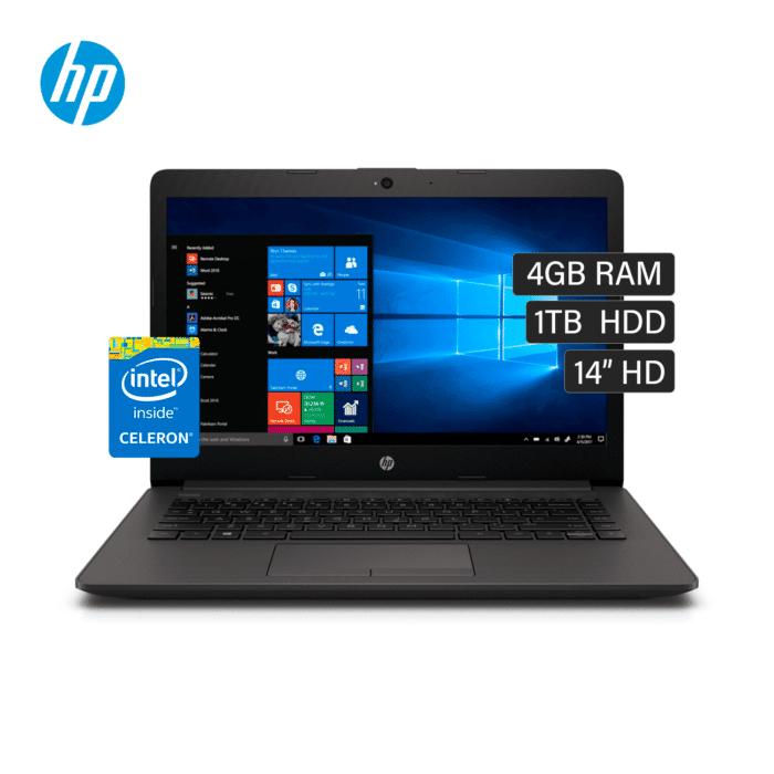 """LAPTOP HP 240 G7 INTEL CELERON N4000 RAM 4GB DISCO 1TB HDD 14"""" HD FREEDOS - HP 240 G71 - R&M Portátiles"""