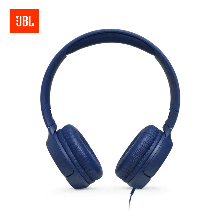 AURICULARES JBL T500 ON-EAR BLUE - JBL BLUE 1 - R&M Portátiles