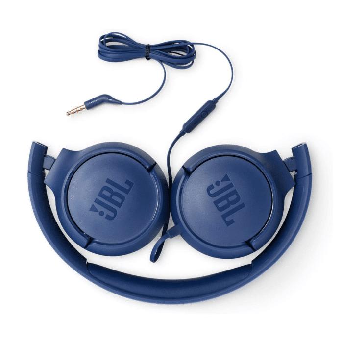 AURICULARES JBL T500 ON-EAR BLUE - JBL BLUE 3 - R&M Portátiles