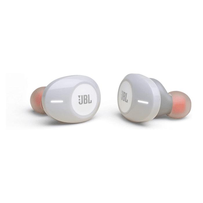 AUDIFONOS JBL T120 TRULY WIRELESS WHITE - JBL T120 2 - R&M Portátiles
