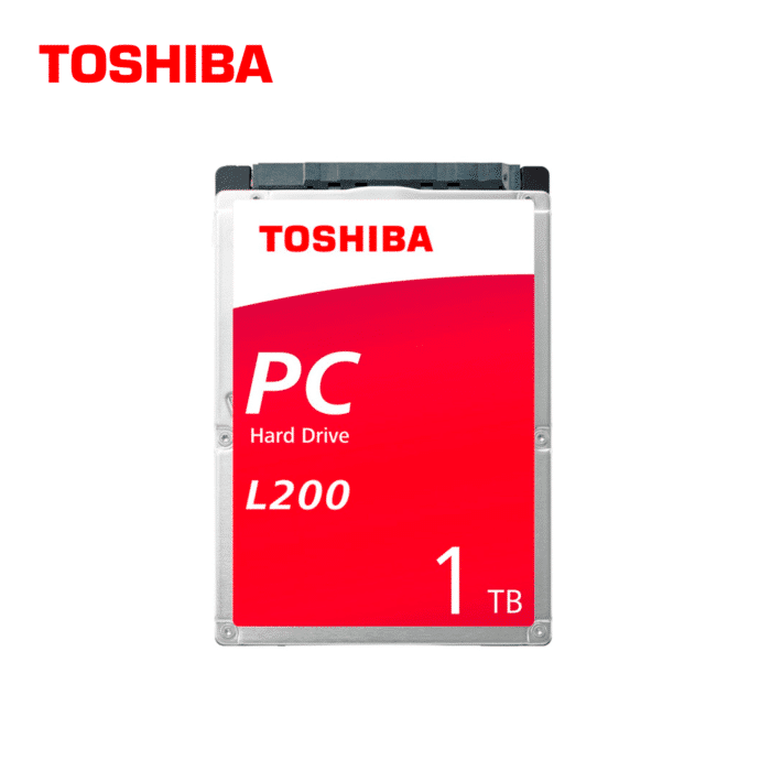 DISCO DURO TOSHIBA L200 PARA NOTEBOOK 1TB SATA 5400 RPM - L200 1 - R&M Portátiles
