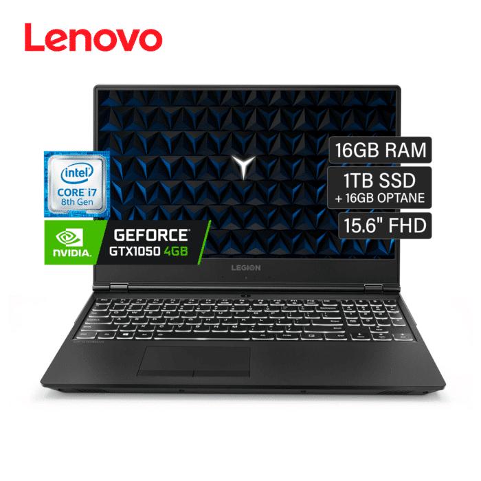"""LENOVO LEGION Y530-15ICH I7 8750H RAM 8GB DISCO 1TB + 16GB OPTATE VIDEO 4GB 15.6"""" FHD WINDOWS 10 - LEGION Y530 15ICH - R&M Portátiles"""