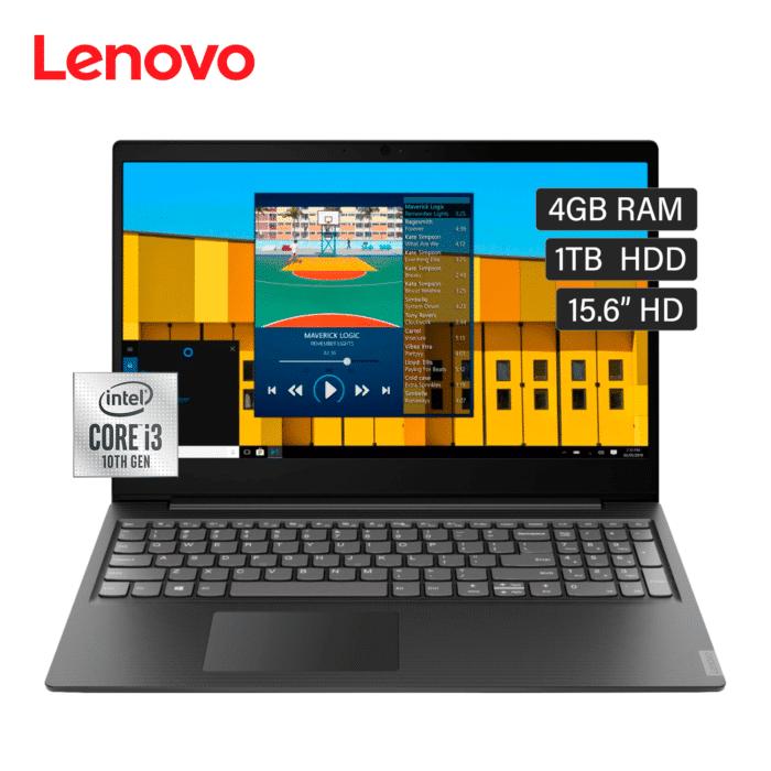 "LAPTOP LENOVO IDEAPAD S145-15IIL INTEL CORE I3 1005G1 RAM 4GB DISCO 1TB HDD 15.6"" HD WINDOWS 10 - S145 15IIL 1 - R&M Portátiles"