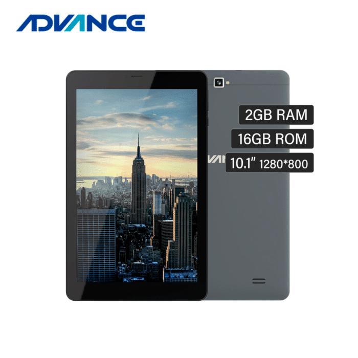 "TABLET ADVANCE SP3701 10.1"" HD RAM 2GB ALMACENAMIENTO 16GB DUAL SIM 3G ANDROID 9.0 - TABLET ADVANCE 1 - R&M Portátiles"