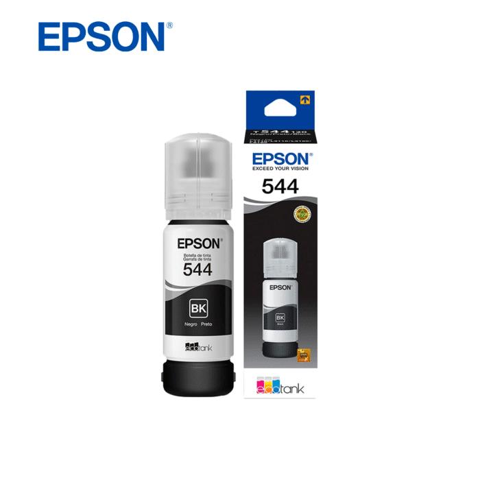 TINTA EPSON T544 ECOTANK 65ML NEGRO - TINTA BLK 544 - R&M Portátiles