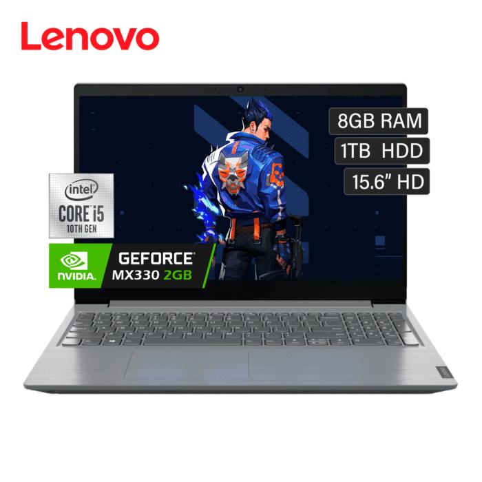"""LAPTOP LENOVO V15-IIL INTEL CORE I5 1035G1 RAM 8GB DISCO 1TB HDD VIDEO 2GB 15.6"""" HD FREEDOS - V15 IILV2 1 - R&M Portátiles"""