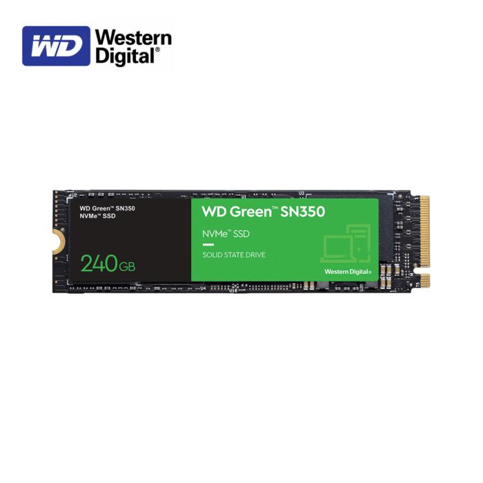 DISCO SOLIDO WESTERN DIGITAL SN350 GREEN 240GB SSD M.2 2280 - WESTER DIGITAL SN350 GREEN 240GB - R&M Portátiles