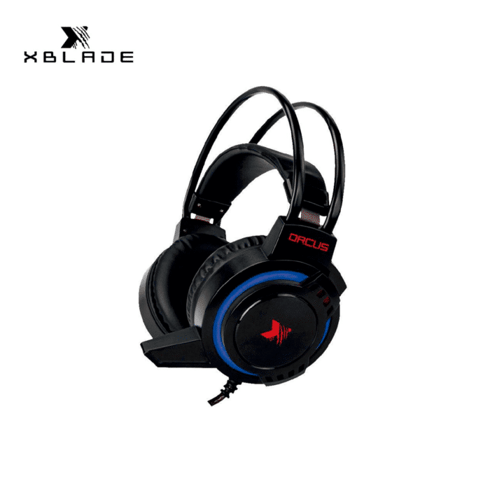 AUDIFONO C/MICROFONO XBLADE GAMING ORCUS 7 LIGHT BLACK/RED - XBLADE ORCUS 1 - R&M Portátiles