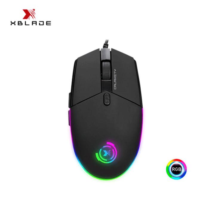 MOUSE XBLADE GAMING ELITE CALAMITY RGB PROGRAMABLE BLACK - mouse gamer - R&M Portátiles