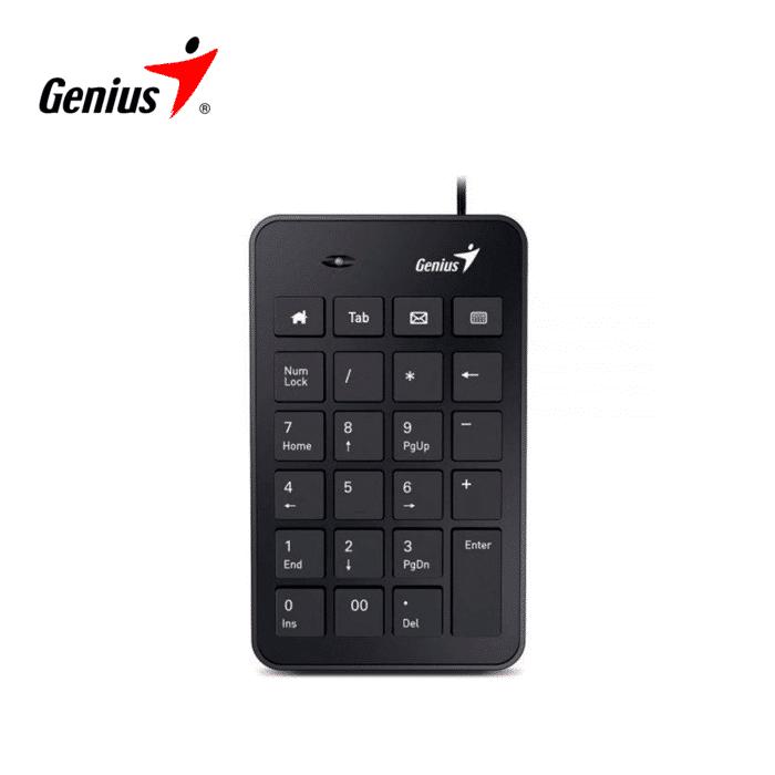 TECLADO NUMERICO GENIUS NUMPAD I120 USB BLACK - teclado inal 1 - R&M Portátiles