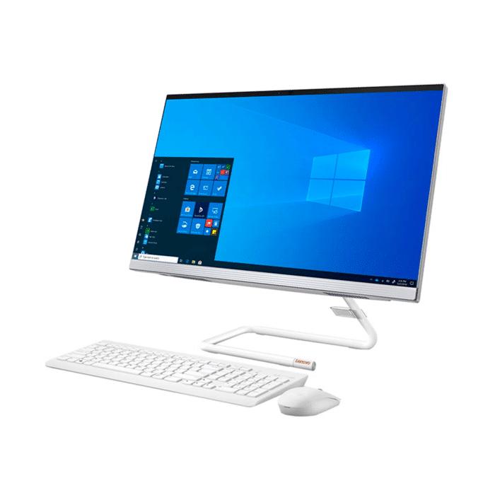 "LENOVO IDEACENTRE 3 24IMB05 INTEL CORE I3 10210U RAM 4GB DISCO 1TB HDD 23.8"" FHD WINDOWS 10 - AIO 3 24IMB05 2 - R&M Portátiles"
