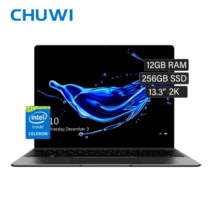 "CHUWI GEMIBOOK INTEL CELERON J4115 RAM 12GB DISCO 256GB 13.3"" 2K WINDOWS 10 - CHUWI 1 1 - R&M Portátiles"
