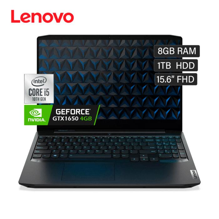 "LENOVO GAMING 3 15IMH05 INTEL CORE I5 10300H RAM 8GB DISCO 1TB HDD VIDEO 4GB 15.6"" FHD WINDOWS 10 - GAMING 3 - R&M Portátiles"
