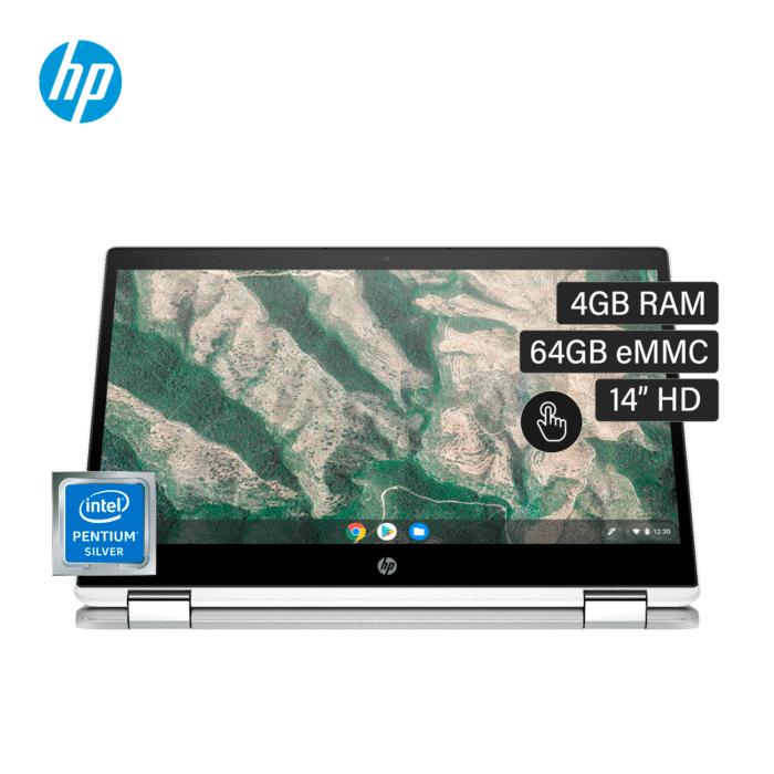 """LAPTOP HP CHROMEBOOK X360 14B-CA0023DX CORE N5000 RAM 4GB DISCO 64GB 14"""" HD TACTIL CHROME OS - 14B CA0023DX 0 - R&M Portátiles"""