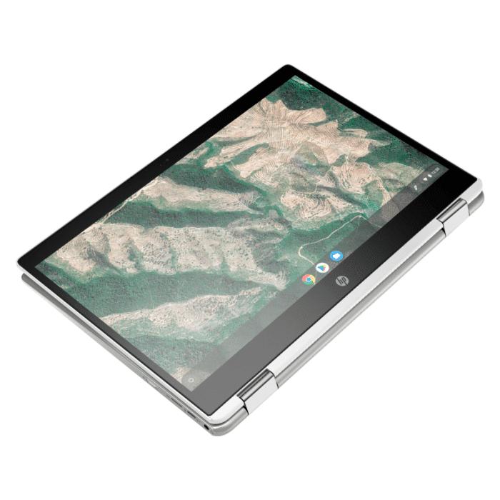 "LAPTOP HP CHROMEBOOK X360 14B-CA0013DX INTEL CELERON N4000 RAM 4GB DISCO 32GB EMMC 14"" HD CHROME OS - 14B CA0023DX 2 1 - R&M Portátiles"