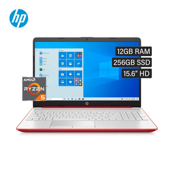 """LAPTOP HP 15-GW0012LA RYZEN 5 3500U RAM 12GB DISCO 256GB SSD 15.6"""" HD WINDOWS 10 - 15 GW0012LA - R&M Portátiles"""