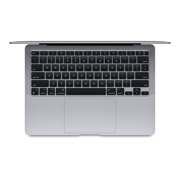 "MACBOOK AIR A2337 CHIP M1 RAM 8GB DISCO 256GB SSD 13.3"" RETINA AÑO 2021 GRIS ESPACIAL US - MacBook Air 2020 gris 1 - R&M Portátiles"