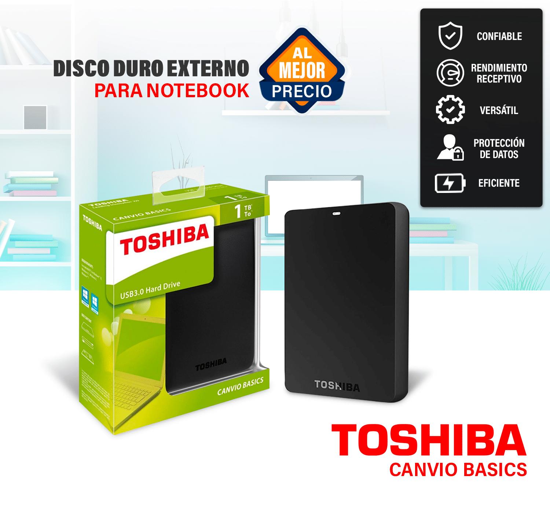 Home - movil TOSHIBA 1TB EXTERNO - R&M Portátiles