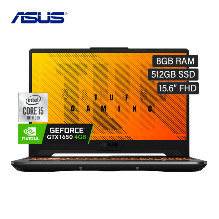 "LAPTOP ASUS TUF FX506LI-US53 INTEL CORE I5 10300H RAM 8GB DISCO 512GB VIDEO 4GB 15.6"" FHD WINDOWS 10 - FX506LI 1 - R&M Portátiles"