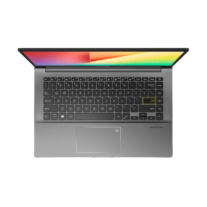 "LAPTOP ASUS M433UA-EB047T RYZEN 5 5500U RAM 8GB DISCO 512GB SSD 14"" FHD WINDOWS 10 BLACK - M433UA EB046TBLK 2 - R&M Portátiles"