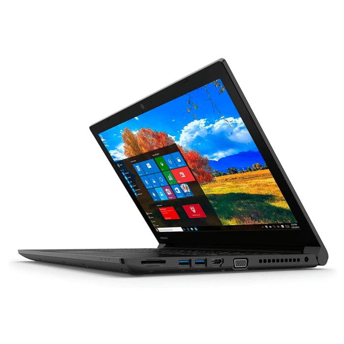 "TOSHIBA DYNABOOK TECRA A50-F INTEL CELERON 4205U RAM 4GB DISCO 128GB SSD 15.6"" HD WINDOWS 10 PRO - TOSHIBA I7 ONCEVA 3 - R&M Portátiles"