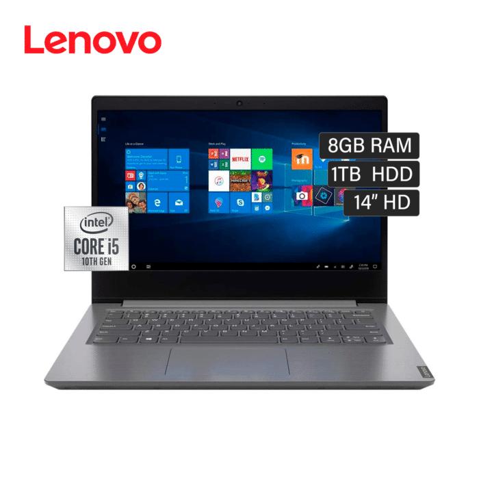 """LENOVO V14-IIL INTEL CORE I5 1035G1 RAM 8GB DISCO 1TB HDD 14"""" HD FREEDOS - V14 IIL RYM - R&M Portátiles"""