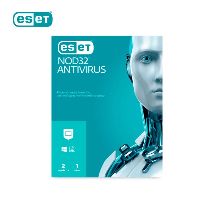 ANTIVIRUS ESET NOD32 EDICION 2021 / 2X1 1 LICENCIA 2 EQUIPOS - eset 1 - R&M Portátiles