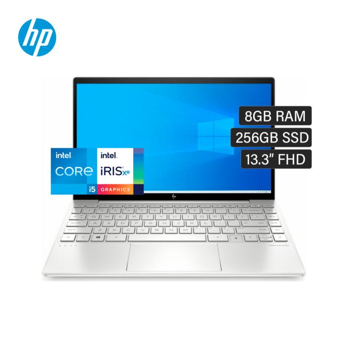 "LAPTOP HP ENVY 13-BA1047WM INTEL CORE I5 1135G7 RAM 8GB RAM DISCO 256GB SSD 13.3"" FHD WINDOWS 10 - 13 BA1047WM - R&M Portátiles"
