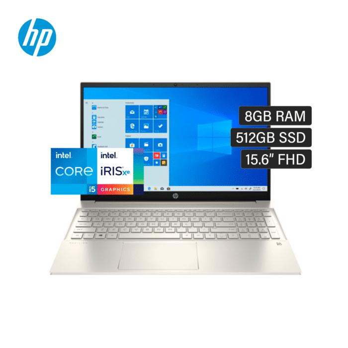 "LAPTOP HP PAVILION 15-EG0050WM INTEL CORE I5 1135G7 RAM 8GM DISCO 512GB SSD 15.6"" FHD TOUCH WINDOWS 10 - 15 eg0005ne 4 - R&M Portátiles"