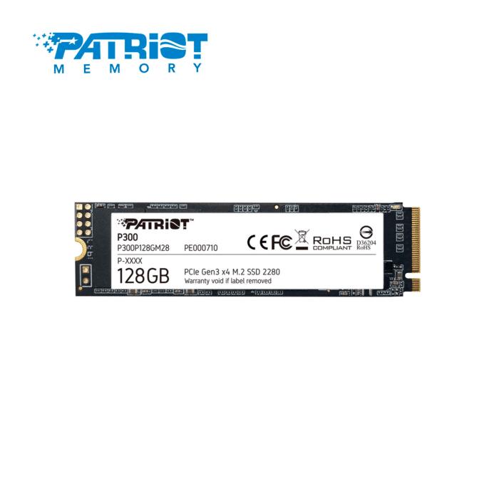 DISCO SOLIDO PATRIOT P300 128GB M.2 2280 - DISCO SOLIDO 128GB PATRIOT - R&M Portátiles