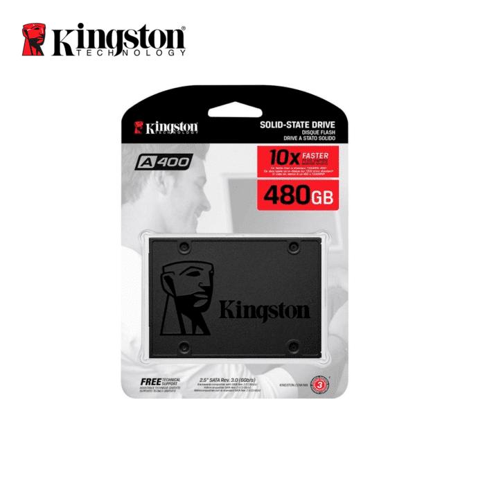 "DISCO SOLIDO KINGSTON 480GB A400 2.5"" SATA - KINGSTON 480GB A400 - R&M Portátiles"