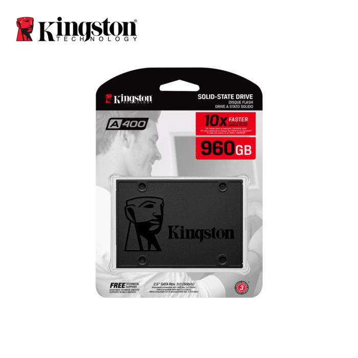 DISCO SOLIDO KINGSTON 960GB A400 2.5 SATA - KINGSTON 960GB - R&M Portátiles