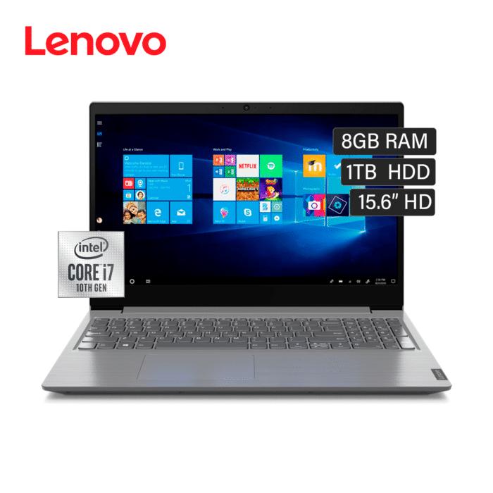 """LAPTOP LENOVO V15-IIL INTEL CORE I7 1065G7 RAM 8GB DISCO 1TB HDD 15.6"""" HD FREEDOS - V15 IIL - R&M Portátiles"""