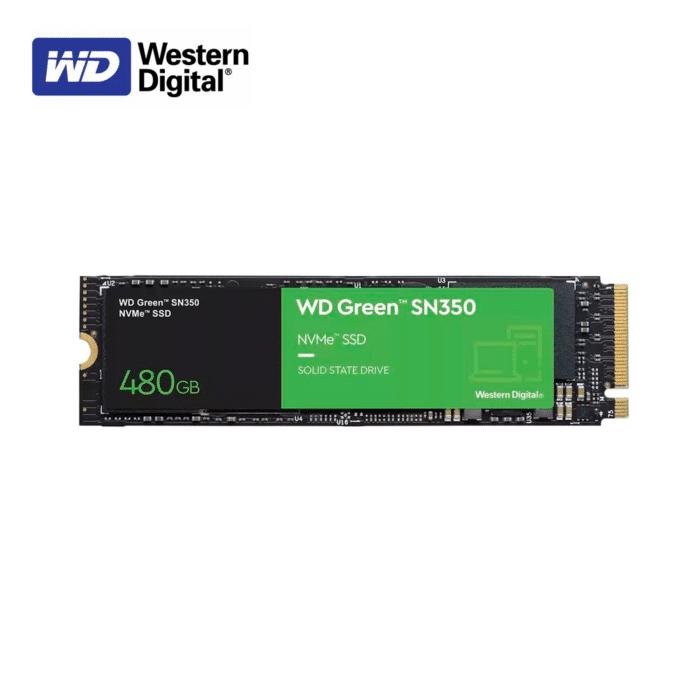 DISCO SOLIDO WESTER DIGITAL SN350 480GB M.2 2280 - WESTER DIGITAL SN350 GREEN 480GB - R&M Portátiles