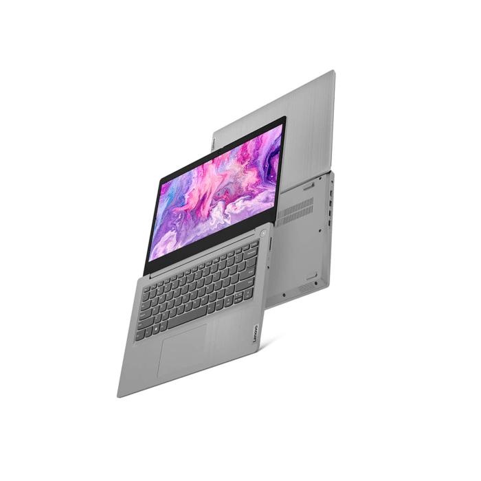 "LAPTOP LENOVO IDEAPAD 3 14IML05 INTEL CORE I3 10110U MEMORIA 4GB DISCO 256GB SSD 14""HD WINDOWS 10 - 14IML05 4 - R&M Portátiles"