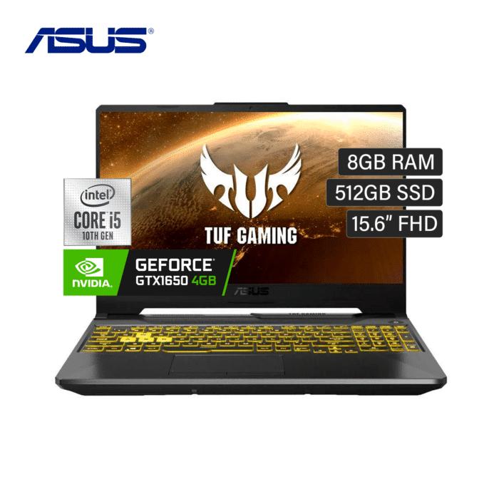 "LAPTOP ASUS FX506LH-HN002T INTEL CORE I5 10300H RAM 8GB DISCO 512GB SSD VIDEO 4GB 15.6"" FHD WINDOWS 10 - FX506LH - R&M Portátiles"