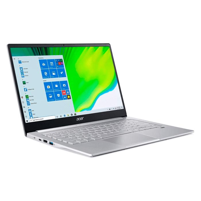 "ACER SWIFT 3 SF 314-59-59TX INTEL CORE I5 1135G7 RAM 8GB DISCO 512GB SSD 14"" FHD WINDOWS 10 HOME - SWIFT 3 1 - R&M Portátiles"