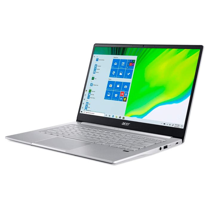 "ACER SWIFT 3 SF 314-59-59TX INTEL CORE I5 1135G7 RAM 8GB DISCO 512GB SSD 14"" FHD WINDOWS 10 HOME - SWIFT 3 2 - R&M Portátiles"