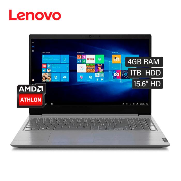 """LAPTOP LENOVO V15 ADA AMD ATHLON 3050U RAM 4GB DISCO 1TB HDD 15.6"""" HD FREEDOS - V15 ADA - R&M Portátiles"""