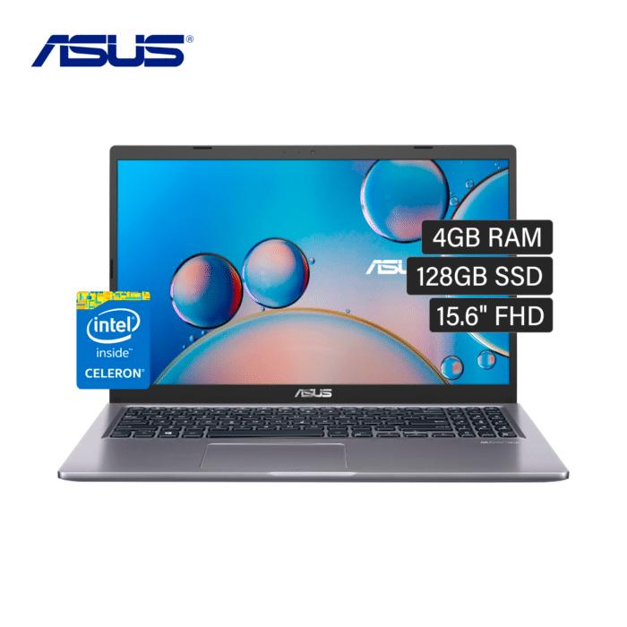 "LAPTOP ASUS X515MA-BR423TS INTEL CELERON N4020 RAM 4GB DISCO 128GB SSD 15.6"" HD WINDOWS 10 - ASUS X515MA - R&M Portátiles"