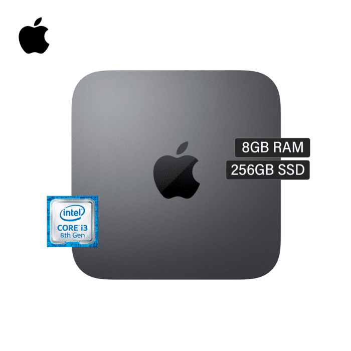 MAC MINI A1993 CORE I3 3.60GHZ RAM 8GB DISCO 256GB SSD WIFI/BLUETOOTH AÑO 2018 - MAC MINI A1993 - R&M Portátiles