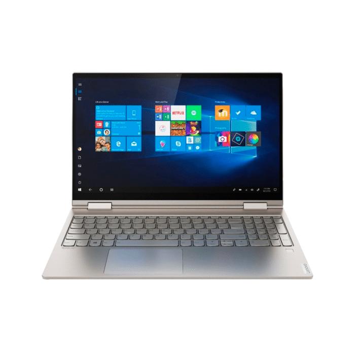 "LAPTOP LENOVO YOGA C740-15IML INTEL CORE I5 10210U RAM 8GB DISCO 512GB SSD + 32GB OPTANE 15.6"" FHD TACTIL WINDOWS 10 - YOGA C740 15IML B - R&M Portátiles"