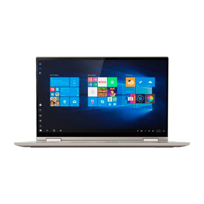 "LAPTOP LENOVO YOGA C740-15IML INTEL CORE I5 10210U RAM 8GB DISCO 512GB SSD + 32GB OPTANE 15.6"" FHD TACTIL WINDOWS 10 - YOGA C740 15IML D - R&M Portátiles"