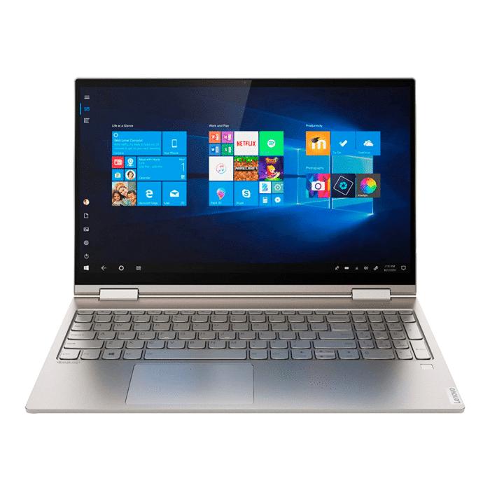 "LAPTOP LENOVO YOGA C740-15IML INTEL CORE I7 10510U RAM 12GB DISCO 512GB SSD 15.6"" FHD TACTIL WINDOWS 10 - lenovo yoga 15.6 2 - R&M Portátiles"
