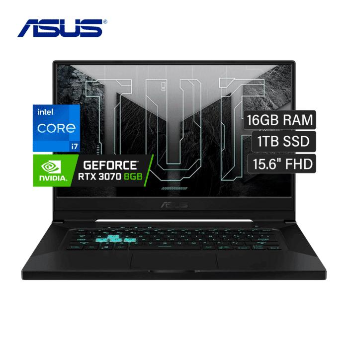 "LAPTOP ASUS FX516PR-211. TM15 INTEL CORE I7 113750H RAM 16GB DISCO 1TB SSD VIDEO 8GB 15.6"" FHD WINDOWS 10 - ASUS FX516PR 211 7 - R&M Portátiles"